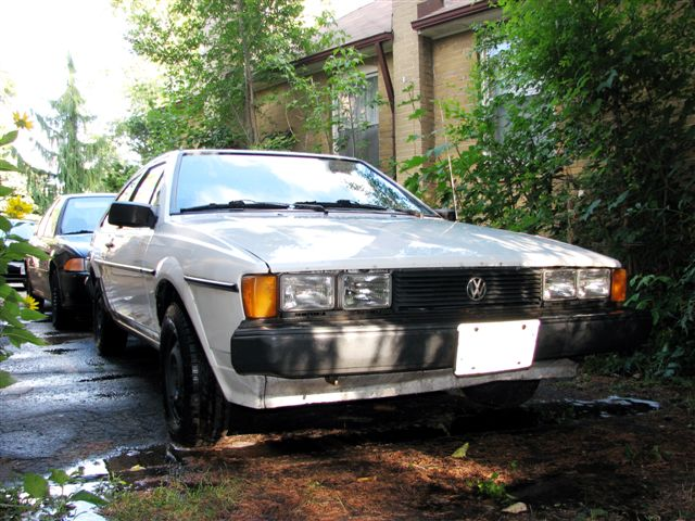 VWVortex com - FS: 1985 VW Scirocco, white, 5 speed, as-is, for