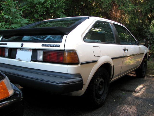 VWVortex com - FS: 1985 VW Scirocco, white, 5 speed --